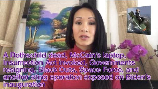 A Rothschild dead, McCain's laptop, Insurrection Act invoked, Government resigning, Black Outs, Spac 19-1-2021