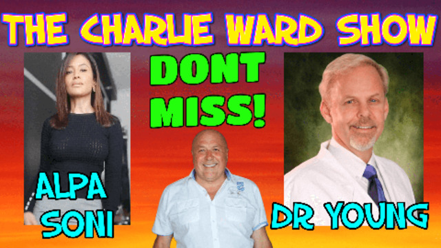 SODIUM CHLORINE WITH DR ROBERT YOUNG, ALPA SONI & CHARLIE WARD 27-4-2021