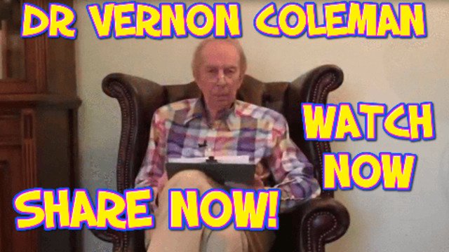 THE LATEST NEWS FROM DR VERNON COLEMAN, PLEASE SHARE WITH FRIENDS AND FAMILY 3-4-2021