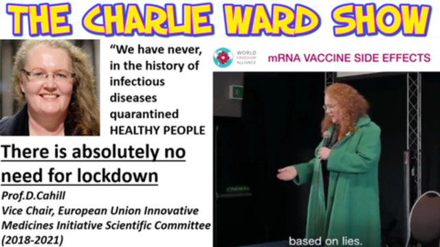 THE SHOCKING TRUTH BY PROF DOLORES CAHILL & THE VACCINE.. 24-4-2021