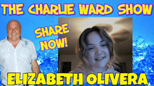 TIK TOK'ER ELIZABETH OLIVERIA TALKS WITH CHARLIE WARD 29-4-2021