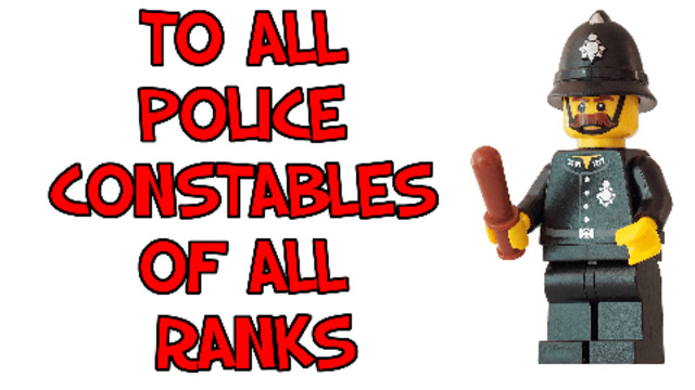 TO ALL SERVING & RETIRED POLICE CONSTABLES OF ALL RANKS 12-4-2021
