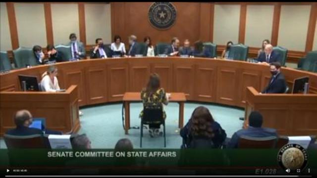 DOCTORS TESTIFY BEFORE TEXAS STATE SENATE TO OPPOSE MANDATORY COVID SHOTS 11-5-2021
