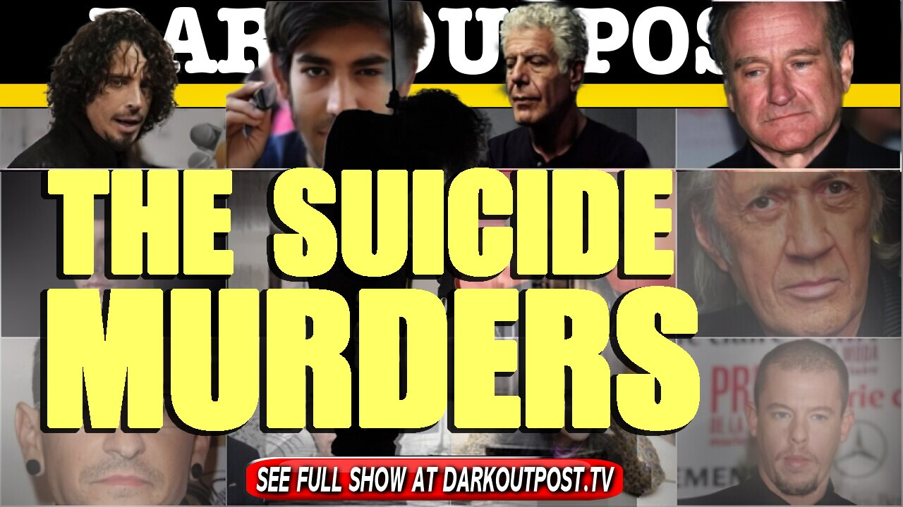 Dark Outpost 05-25-2021 The Suicide Murders 25-5-2021