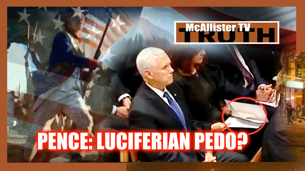 HE LIKES TO STRANGLE KIDS! THE CASE AGAINST PENCE! 12-5-2021
