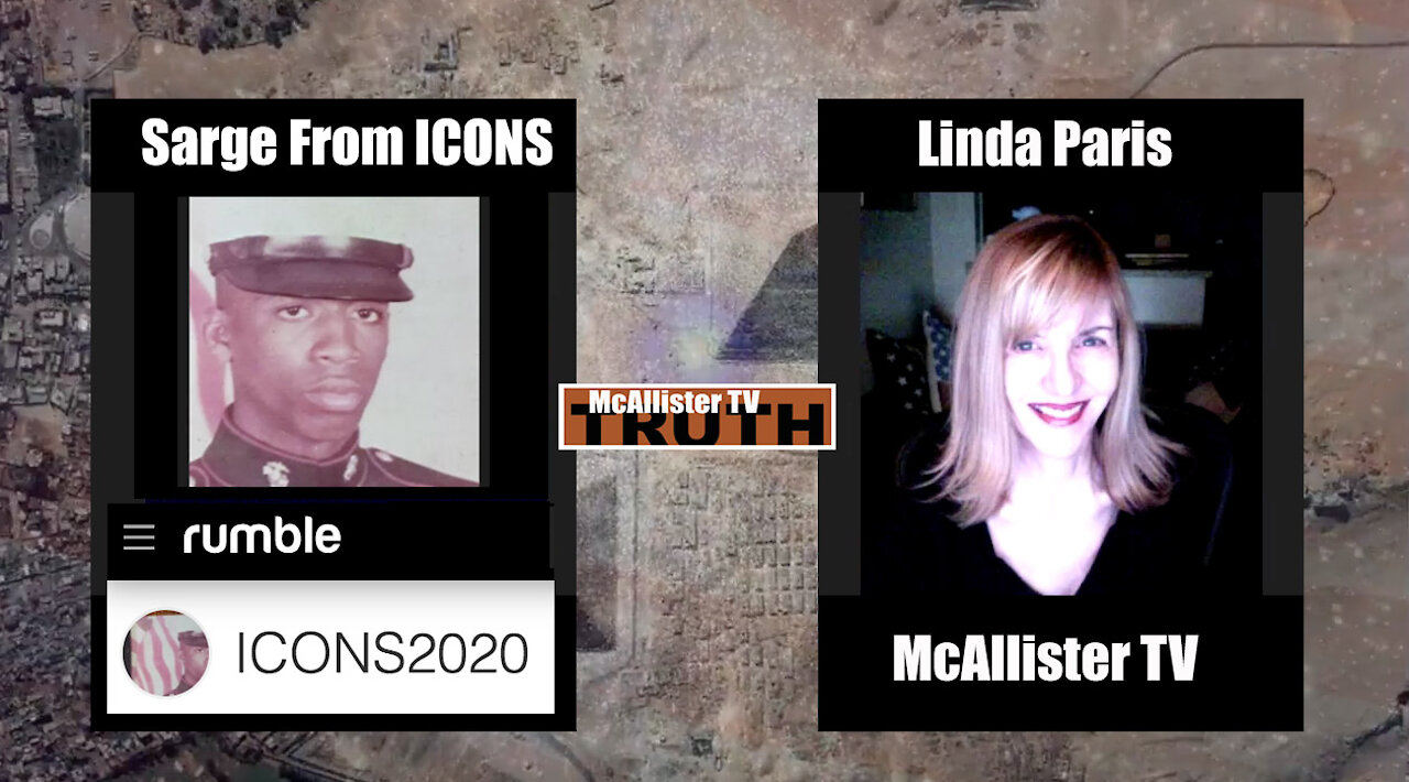 THE SARGE From ICONS Part One! TREASON TRAP! DS VAX-PUSH! BACKCHANNELS! NEW INTERNET COMING! 7-5-2021