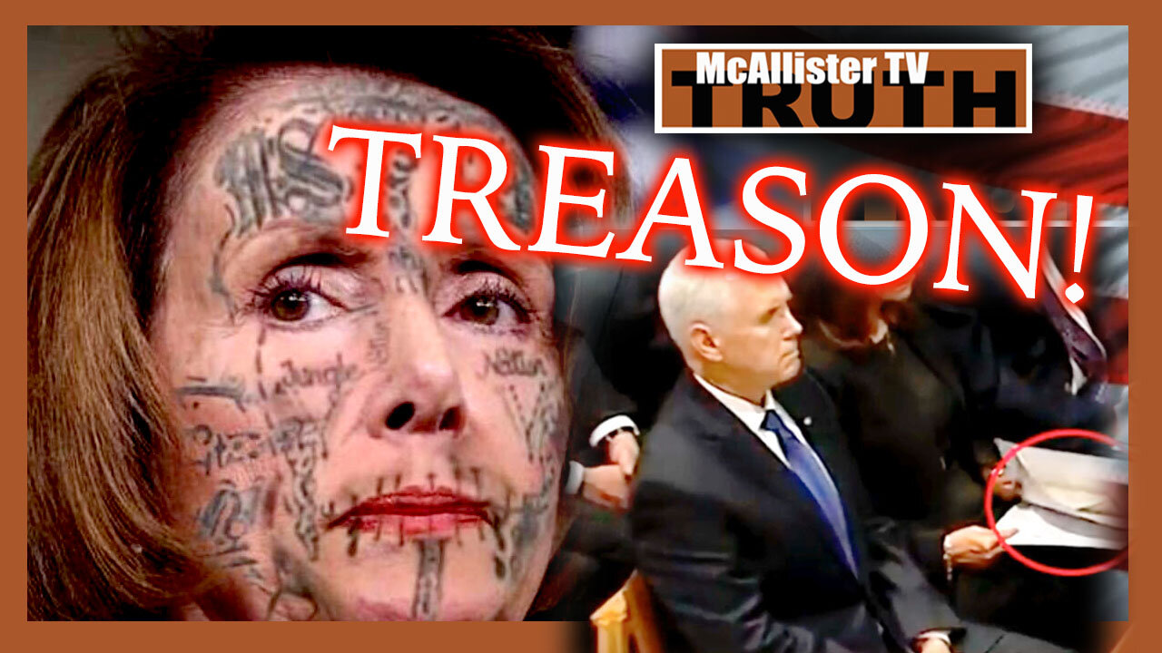 THEY WANTED A BLOODBATH! PELOSI AND PENCE! RUSSIAN ALIEN FOOTAGE?! 5-5-2021
