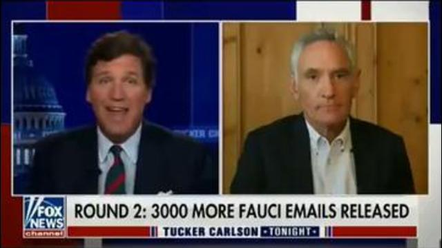3000 MORE FAUCI EMAIL'S FOUND! KEEP GOING TUCKER WE CAN'T WAIT FOR FAUCIS ARREST 9-6-2021