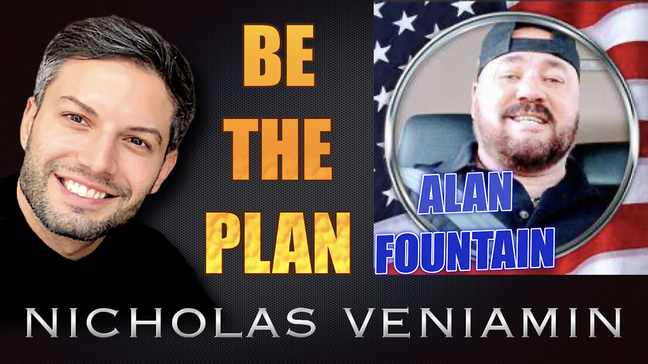 Alan Fountain Discusses Be The Plan with Nicholas Veniamin 24-6-2021