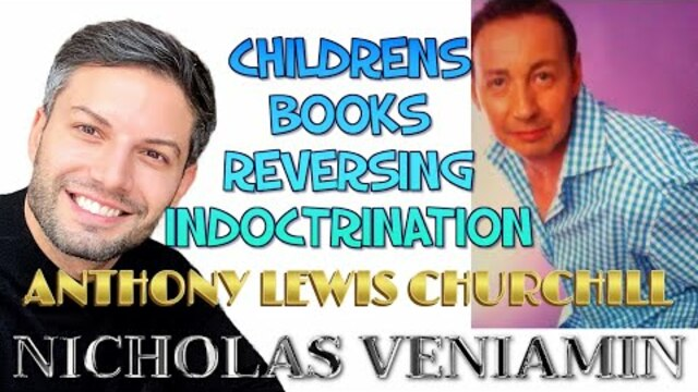 Anthony Lewis Churchill Discusses his Books with Nicholas Veniamin 27-1-2021