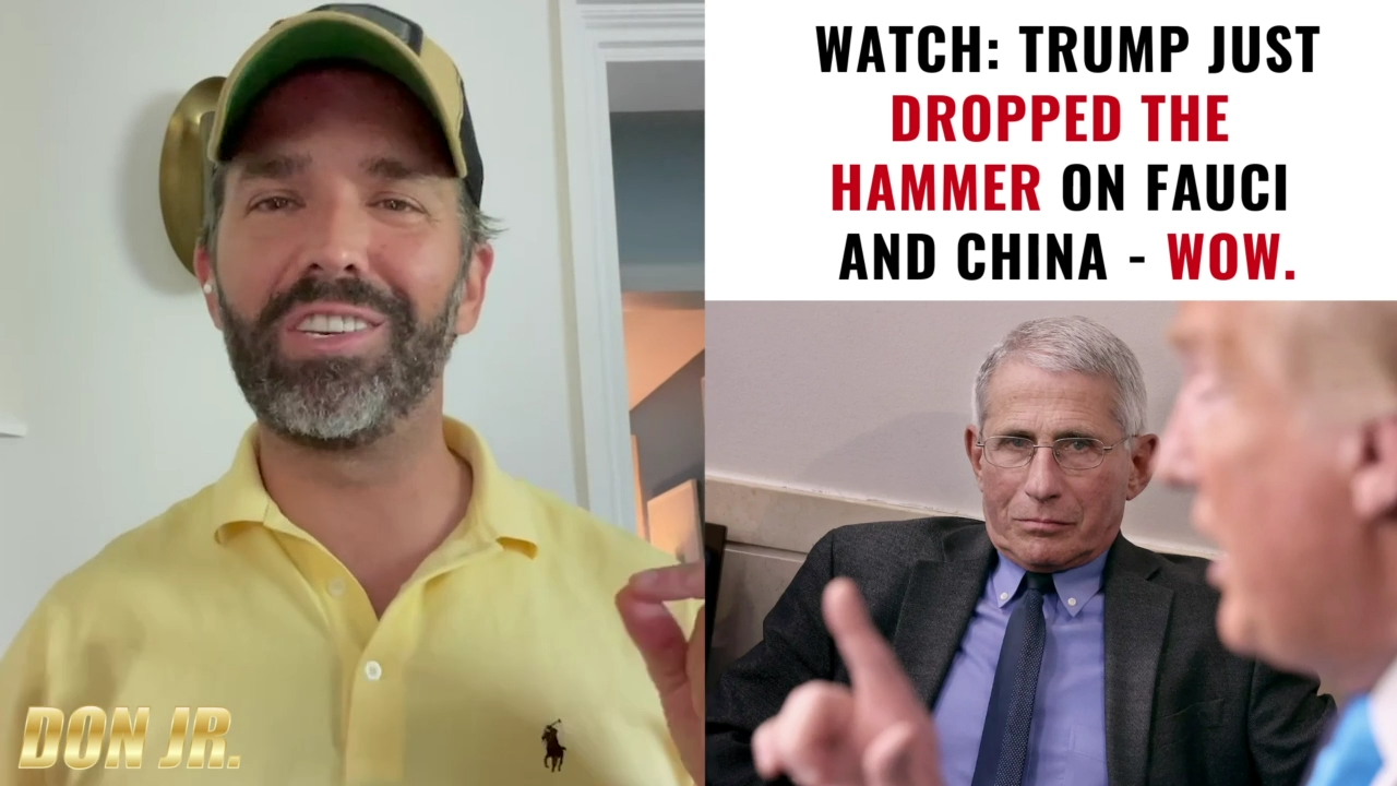 BREAKING Trump Just Dropped The Hammer On Fauci And China 12-6-2021