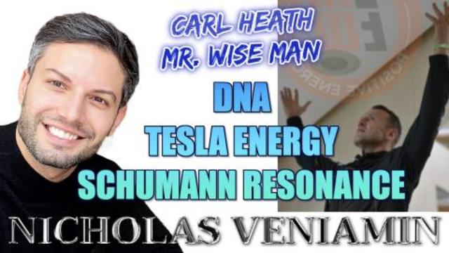 Carl Heath 'Mr. Wise Man' Discusses Frequency Energy with Nicholas Veniamin 24-2-2021