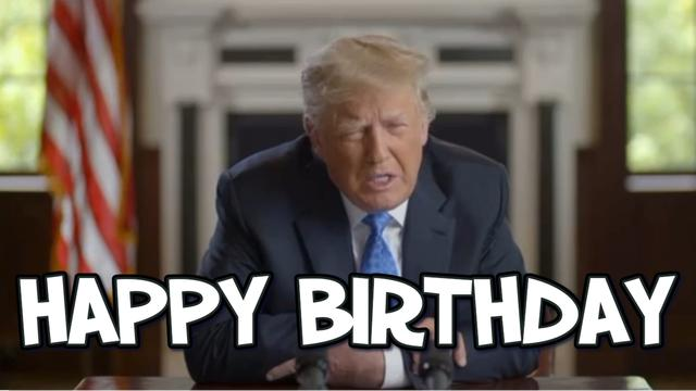 DONALD J TRUMP IS AMAZING THE ELECTION WAS RIGGED BIDEN IS A JOKE PS HAPPY BIRTHDAY PRESIDENT TRUMP 12-6-2021