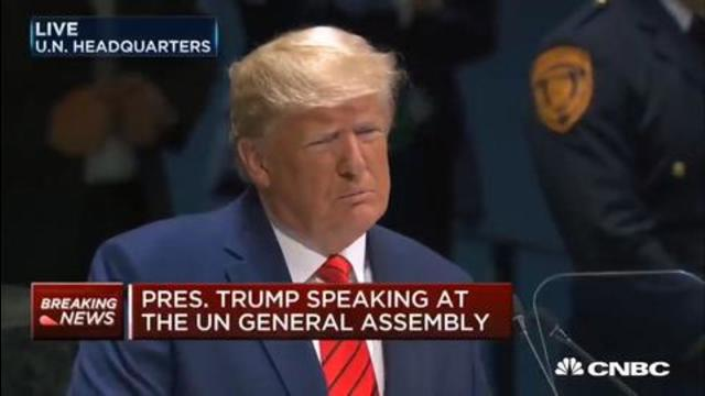 DONALD J TRUMP – THE FUTURE DOES NOT BELONG TO GLOBALISTS! 22-6-2021