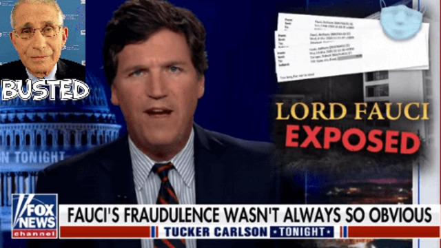 DR FAUCI FINALLY EXPOSED — TUCKER CARLSON LIFTS THE LID ON THE EMAILS SHARE THIS NOW 3-6-2021
