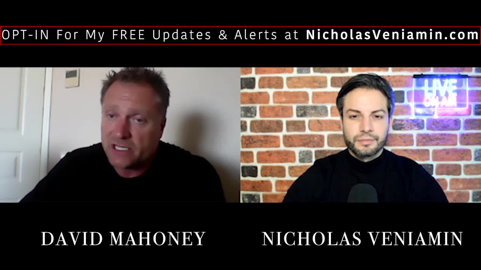 David Mahoney Discusses Vaccines, Media Weapon and Travel Tips with Nicholas Veniamin 17-5-2021