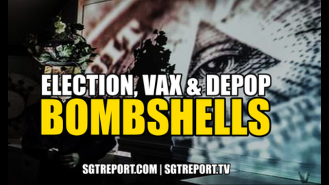 ELECTION, VAX & DEPOP BOMBSHELLS DROPPING NOW! 29-6-2021