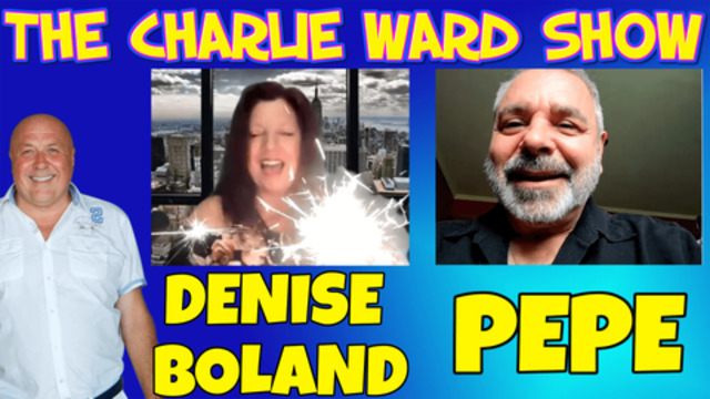 IGNORANCE IS NOT BLISS – TIME TO WAKE UP! WITH DENISE BOLAND, PEPE & CHARLIE WARD 15-6-2021