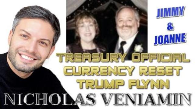 Jimmy & Joanne Discuss Treasury Official, GCR and Trump with Nicholas Veniamin 26-2-2021
