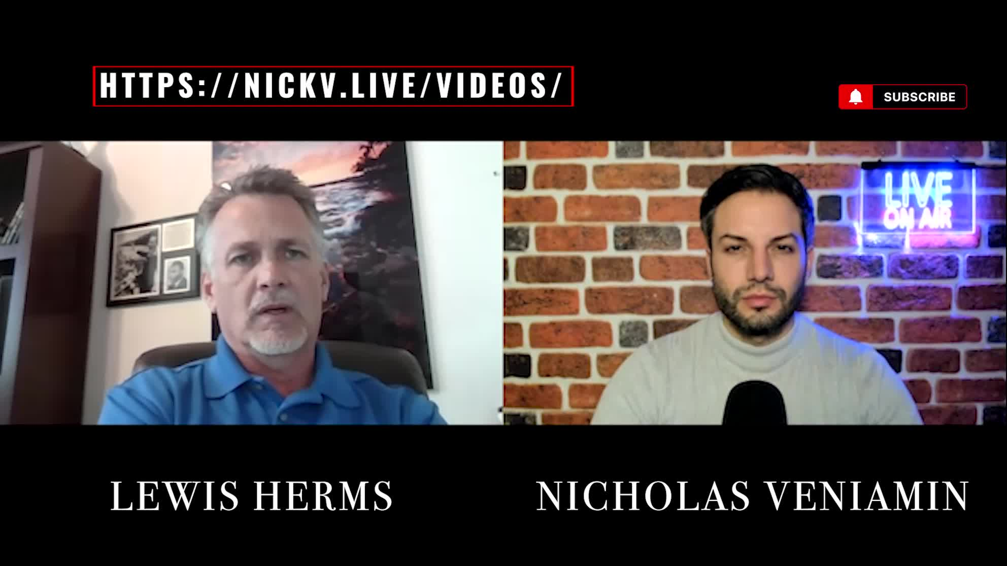 Lewis Herms Discusses Mike Lindell, Vaccines and Trump With Nicholas Veniamin 16-3-2021