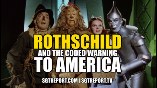 ROTHSCHILD & THE CODED WARNING TO AMERICA 20-6-2021