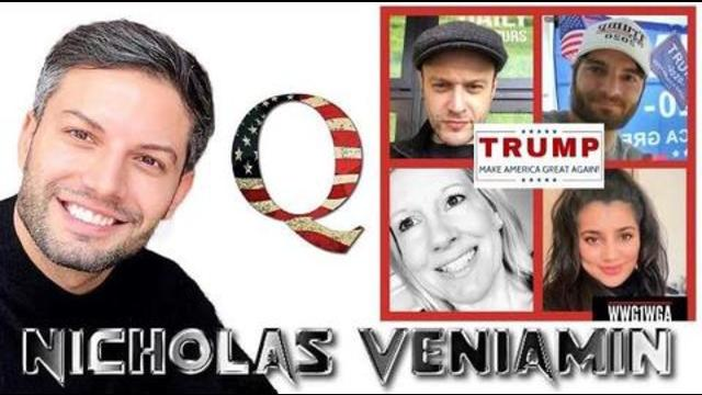 Roundtable of 5 Expose Corruption, Election, Awakening, TRUMP, FluJabs & More with Nicholas Veniamin 8-12-2020