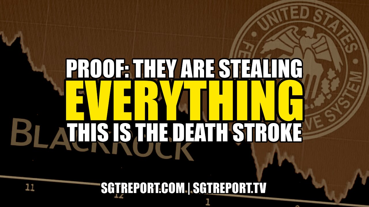 SHOCKING PROOF! THEY'RE STEALING EVERYTHING! THIS IS THE DEATH STROKE 14-6-2021
