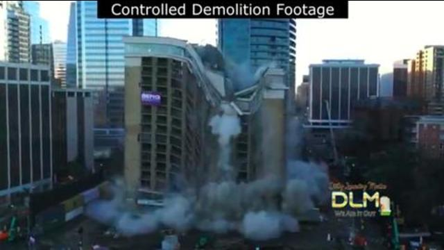 Surfside Condo was a controlled demolition. Here is a comparison. Listen to what the witness says 27-6-2021