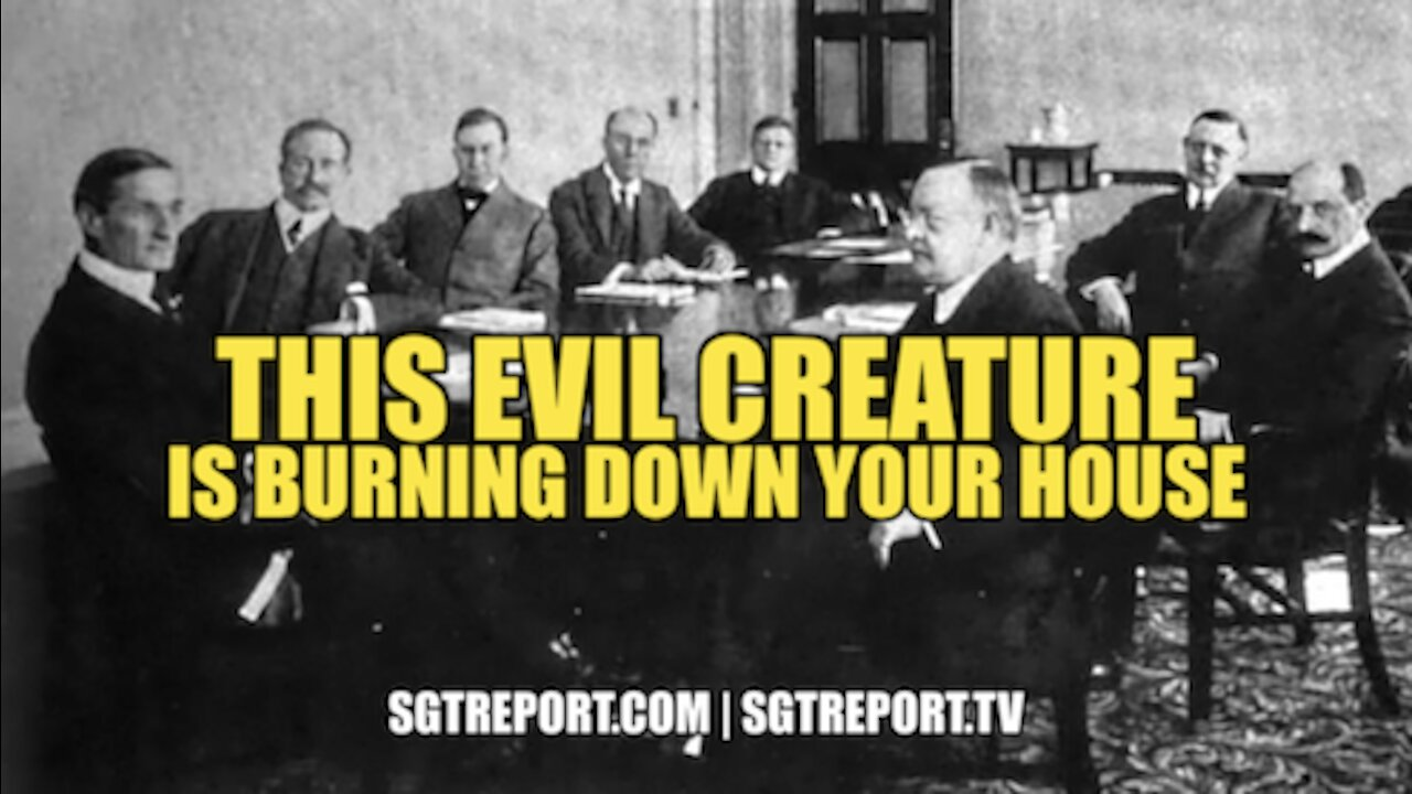THIS EVIL CREATURE IS BURNING DOWN YOUR HOUSE 2-6-2021