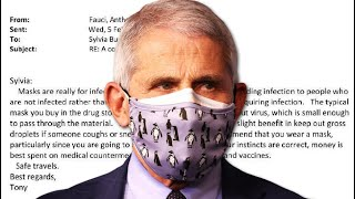 The Dr. Fauci Emails 2-6-2021