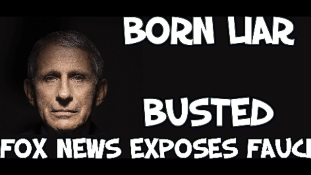 The so called Dr Fauci exposed by FOX NEWS he's a LIAR 8-6-2021