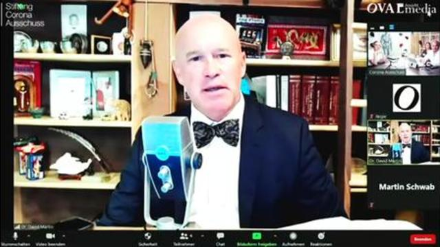 Dr. David Martin has all documented evidence that Pandemic is a Pharmaceutical Industry Scam 11-7-2021