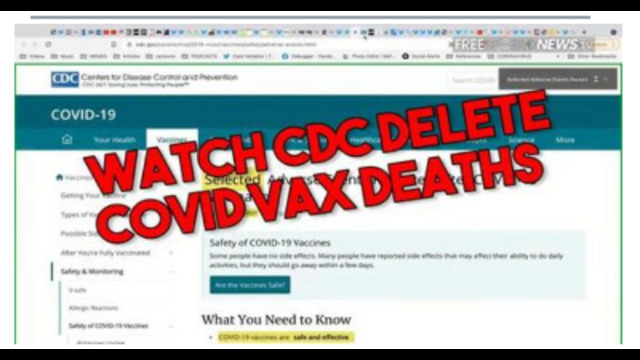 EXPOSED !! WATCH CDC DELETE THOUSANDS OF COVID VAX DEATHS IN REAL TIME !! SHARE FAR AND WIDE ! 22-7-2021