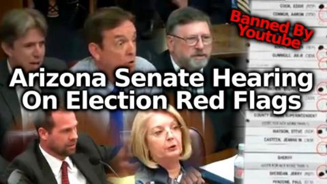 FULL Arizona State Senate Hearing For The Maricopa County Election Audit 18-7-2021