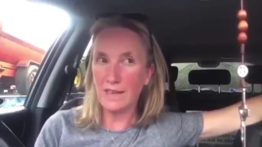 GEMMA O'DOHERTY – THIS COULD BE HER LAST VIDEO BEFORE ARREST 17-7-2021