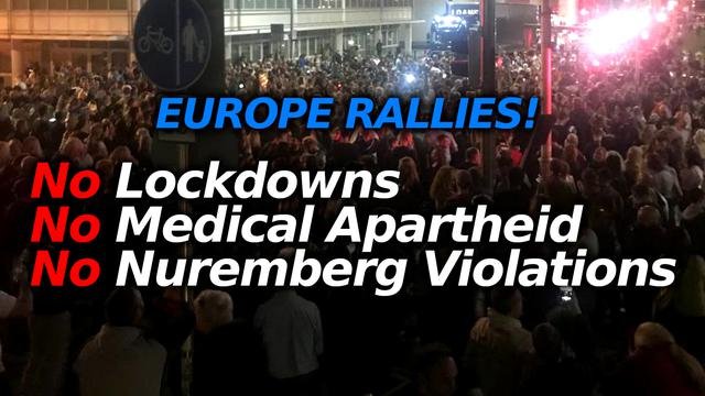 Greece, France, Australia Freedom Fighters Rally To STOP The Ongoing Crimes Against Humanity 15-7-2021