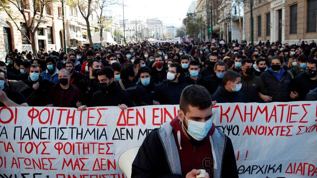 HUMAN RIGHTS PROTEST AGAINST MANDATORY VACCINATION – ATHENS GREECE 2021 16-7-2021