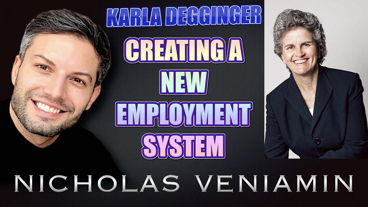 Karla Degginger Discusses New Employment and Hiring Solutions with Nicholas Veniamin 21-7-2021