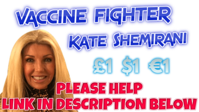 Kate Shemirani is being prosecuted for organising freedom rallies – she is innocent PLEASE HELP 2-7-2021