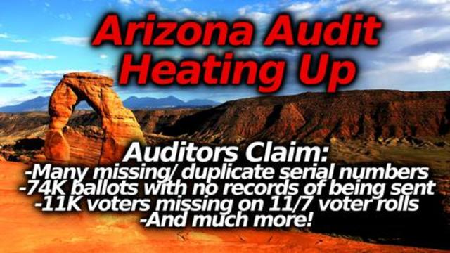 Maricopa Audit Intensifies With New Results Announced: Huge Alleged Anomalies & Red Flags 16-7-23021