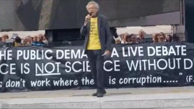 Piers Corbyn's Speech At The London Freedom Protest 24-7-2021