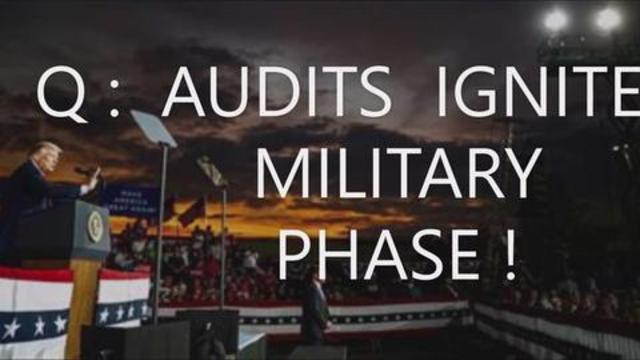 Q: Audits Ignite Military Phase! DoD To Remove Illegitimate Joe Chinese Control of Executive Branch! 19-7-2021