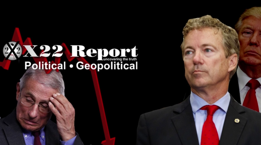 Rand Paul Is On The Hunt, [DS] Being Hit From All Sides, Next Phase Will Bring Justice – Episode 2533b 21-7-2021