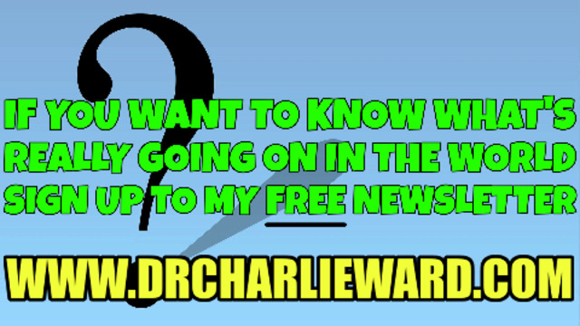 SEEKING THE TRUTH? SIGN UP TO CHARLIE'S FREE NEWSLETTER – NOT TO BE MISSED! 30-6-2021