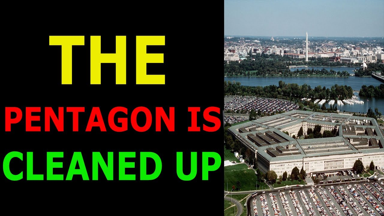 THE PENTAGON IDENTIFIES AND PURGES TRAITORS FROM THE MILITARY 10-7-2021