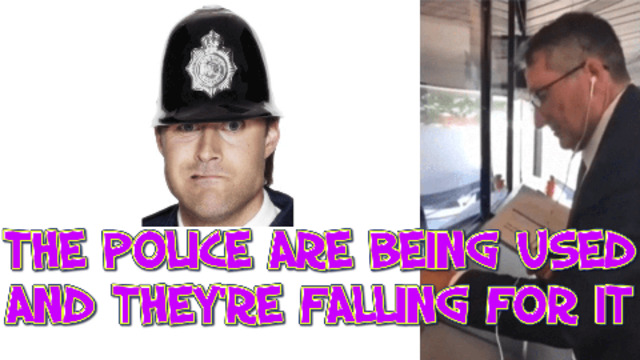 THE POLICE ARE BEING USED AND THEYRE FALLING FOR IT 28-7-2021