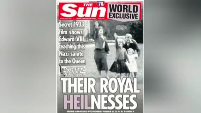 THE ROYALS ARE NAZIS, CORONA MEANS CROWN, WE ARE LIVING IN THE 4TH REICH 20-7-2021