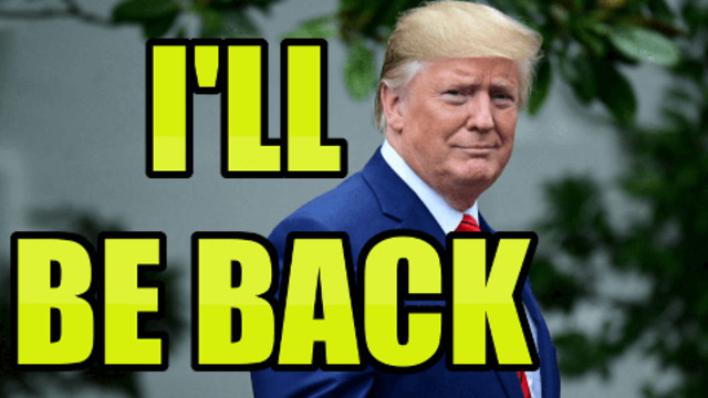 TRUMP WILL BE BACK BY CHARLIE WARD 4-7-2021