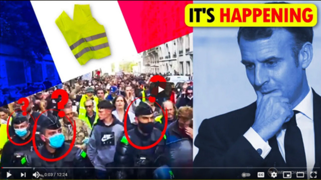 The Massive Uprising In France Has Begun! 19-7-2021