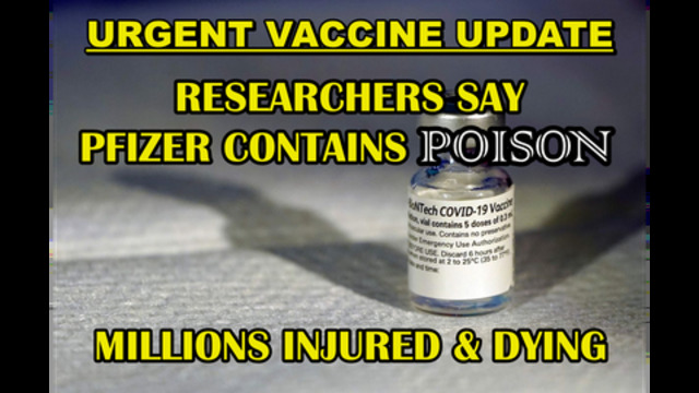 UPDATE – GRAPHENE OXIDE POISON FOUND IN COVID SHOTS – MILLIONS INJURED AND DYING – ZOMBIE DOCTORS 8-7-2021